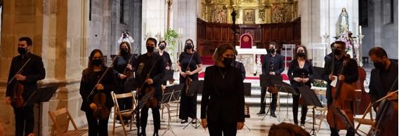 Concierto solidario en la catedral de Santander