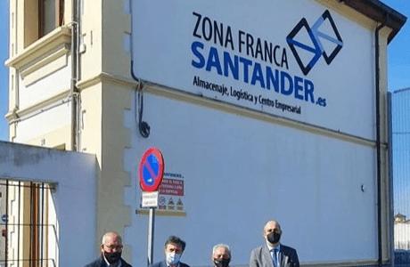 Reunión de Zona Franca de Santader y Clúster Tera
